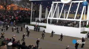 Isiserettes @ 2013 Inaugural Parade @ Presidential Reviewing Stand